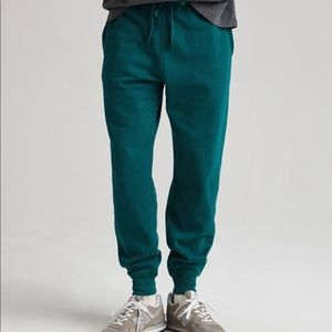 GQ Richer Poorer Recycled Fleece Sweatpants Large